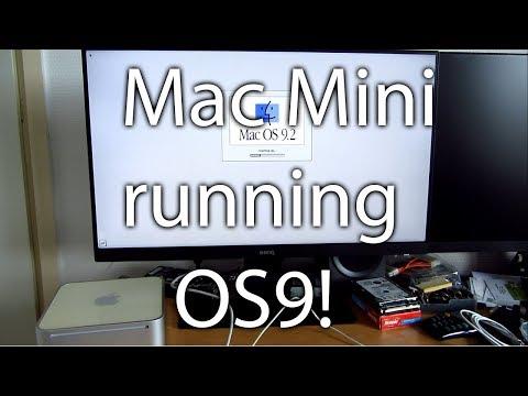 Mac OS 9.2.2 on a Mac Mini - Native!