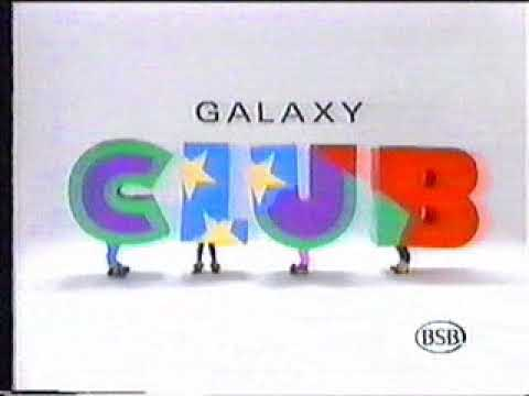 BSB GALAXY CLUB Indent British Satellite Broadcasting