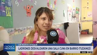 Robaron por cuarta vez la Sala Cuna de barrio Ituzaingó Anexo