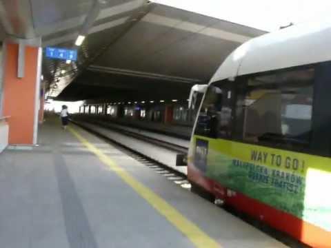 Pociąg Kraków - Balice (Balice Airport Express)