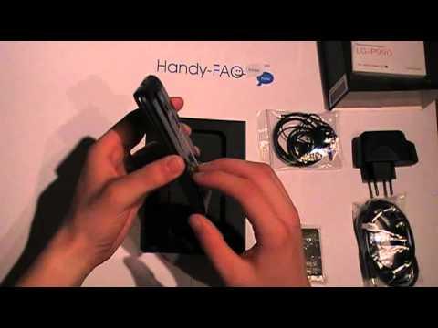 Unboxing des LG P990 Optimus Speed [Handy-FAQ.de]
