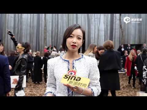[HD] 180306 Victoria - Paris Fashion Week 2018 Sina Interview