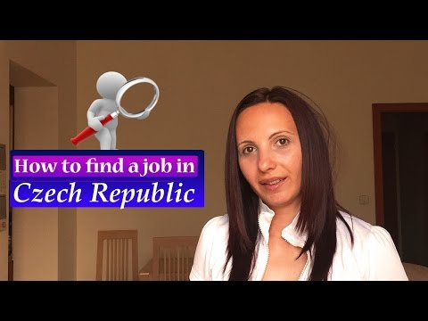 How to find a JOB in CZECH REPUBLIC