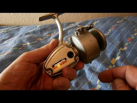 Olympic Atlantis 1400 - Japan 1970s - Fixed Spool Spinning Reel