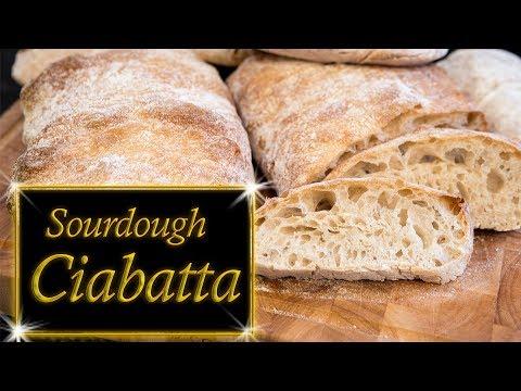 Sourdough Ciabatta Bread