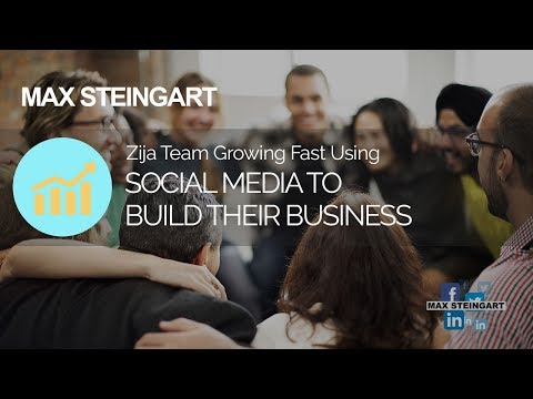Zija Team Growing Fast Using Social Media To Build Their Business