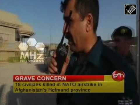 18 civilians killed in NATO airstrike in Afghanistan's Helmand province  (13 Feb,2017)