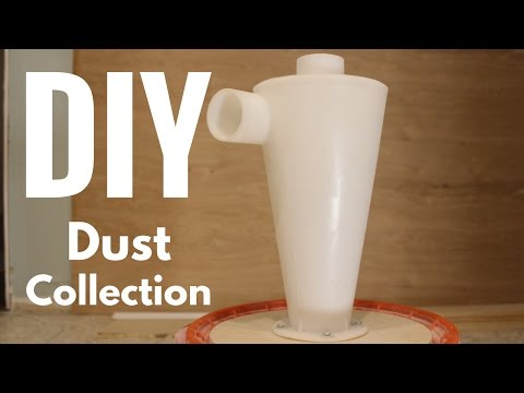 Cheap DIY Dust Collection for Home Workshop