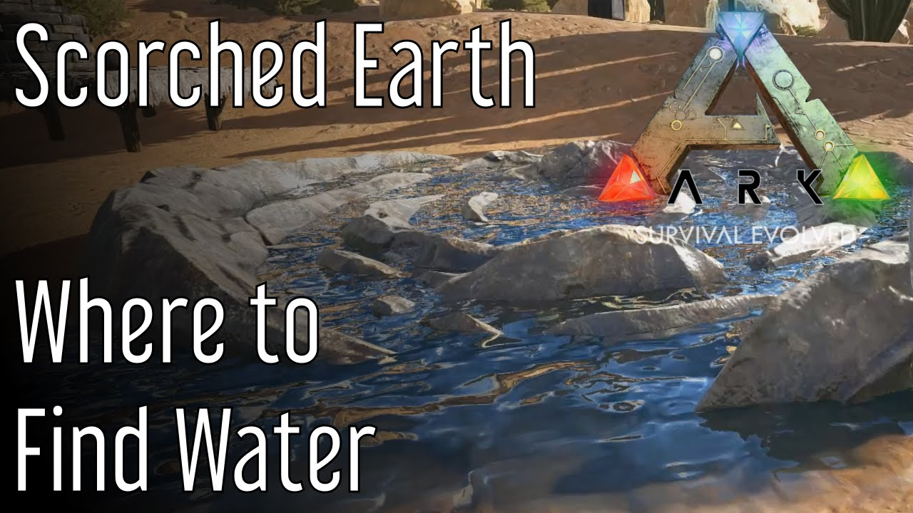 Where to Find Water in Ark: Scorched Earth   YouTube