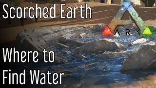 Where to Find Water in Ark: Scorched Earth