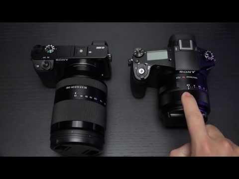 Sony RX10ii vs a6000
