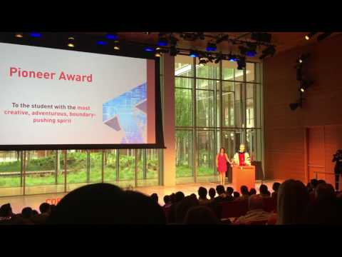 Cornell Tech Commencement Ceremony Pioneer Award '16