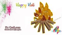 Holi Festival Craft Ideas Youtube