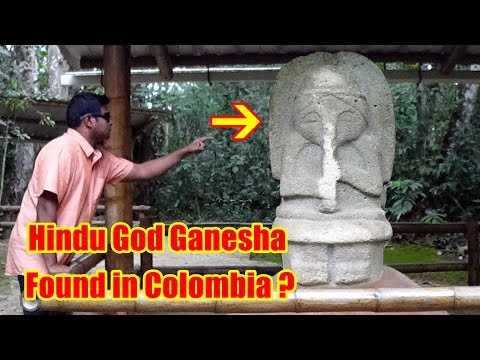 Ancient Hindu Temple Found in Colombia? San Agustin Archaeological Site