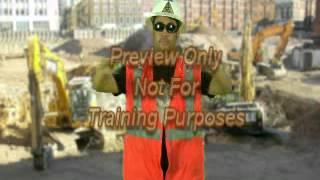 Crane Safety - Hand Signals - Spanish
