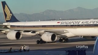 To be phased out: Singapore Airlines Airbus 340-500