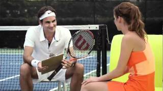 Hilarious Wilson BLX Commercial with Roger Federer