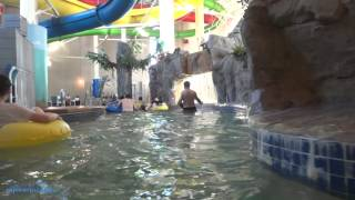Lazy River (HD POV) Caribbean Cover Indoor Water Park & Hotel