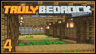 Ep 4: Farming Fun | TrulyBedrock SMP: Season 1