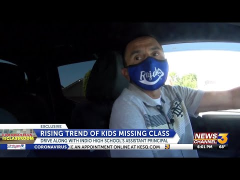 The search for missing Indio High school students as grades & attendance plunge