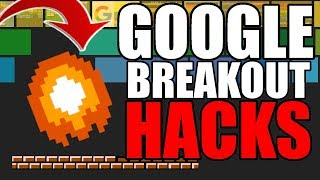 Google Breakout EASTER EGG Game HACKS! 「Autoplay, Sprite Swaps, and MORE!」
