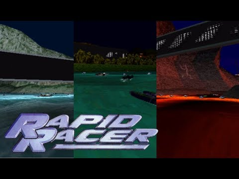 Xin Plays: Rapid Racer (PS1): Part 4: Canada to Hawaii AT NIGHT
