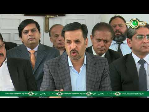 Chairman Pak Sarzameen Party Syed Mustafa Kamal Press Conference 4th january 2018 at Pakistan House