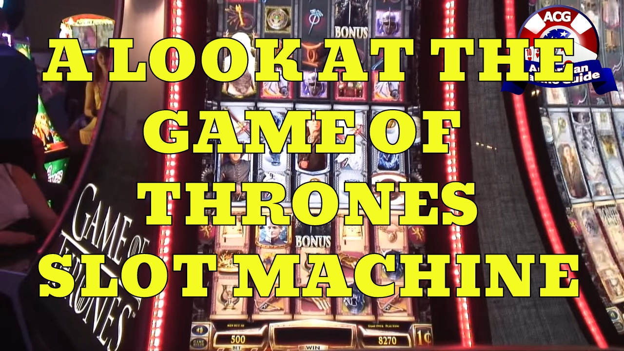 Game of thrones online slot machine