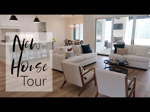 New House Tour! | Our Family's Custom Home Build