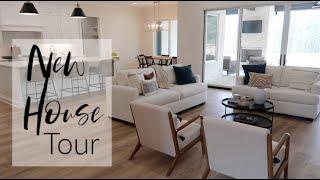 New House Tour!   Our Family's Custom Home Build