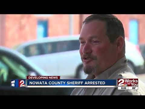 Nowata County Sheriff arrested