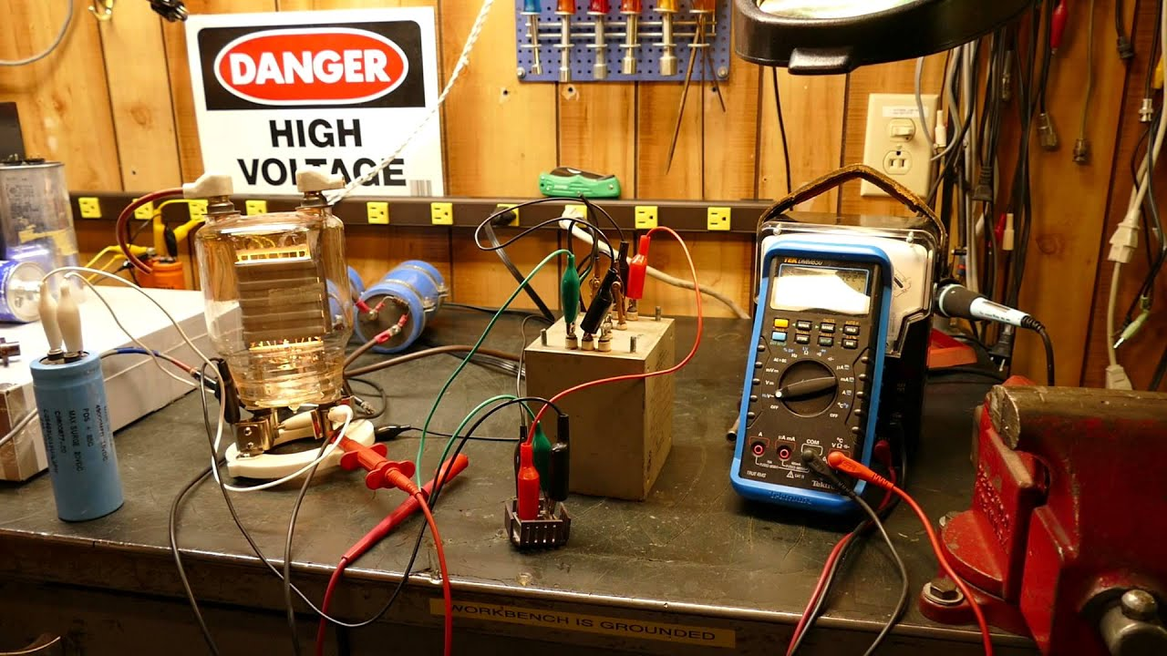 833a 150 Watt Audio Power Amplifier Filament Supply Challenges Part 150w Lm3886 2