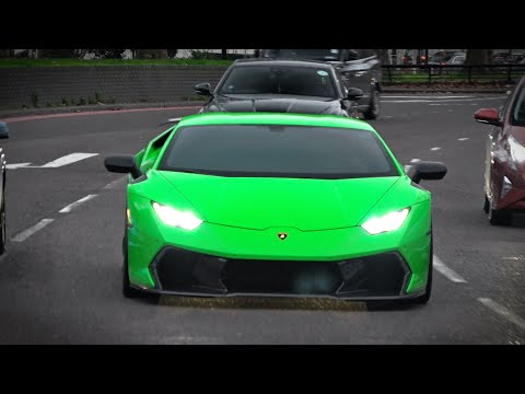 Supercars in London January 2020