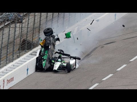 Top 10 IndyCar Crashes of 2016