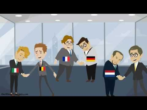 The European Union and the Eurozone Explained in One Minute: Past, Present and Future