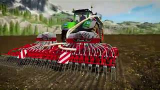 Farming Simulator 19: Kverneland & Vicon Equipment pack trailer