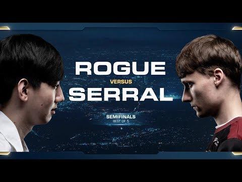 Rogue vs Serral ZvZ - Semifinals - 2018 WCS Global Finals - StarCraft II
