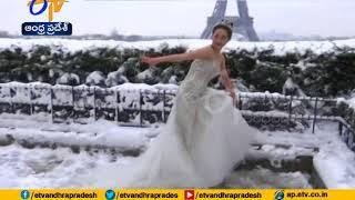 Massive Snowfall | Disrupt Normal Life at Paris | Eiffel Tower Gets More Beauty