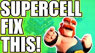 THE BIGGEST PROBLEM WITH CLASH OF CLANS! - WILL SUPERCELL EVER FIX THIS!?