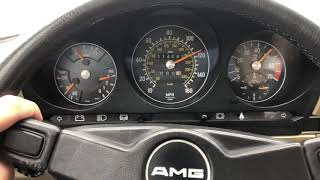 European 450SLC test drive.