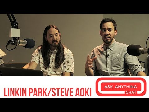 Mike Shinoda and Steve Aoki Answer Fan Questions On Ask Anything Chat w/ Romeo ​​​ - AskAnythingChat