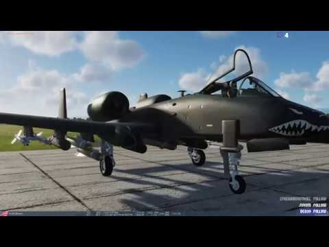 A-10C Warthog Simulator - Complete Cold Start - YouTube