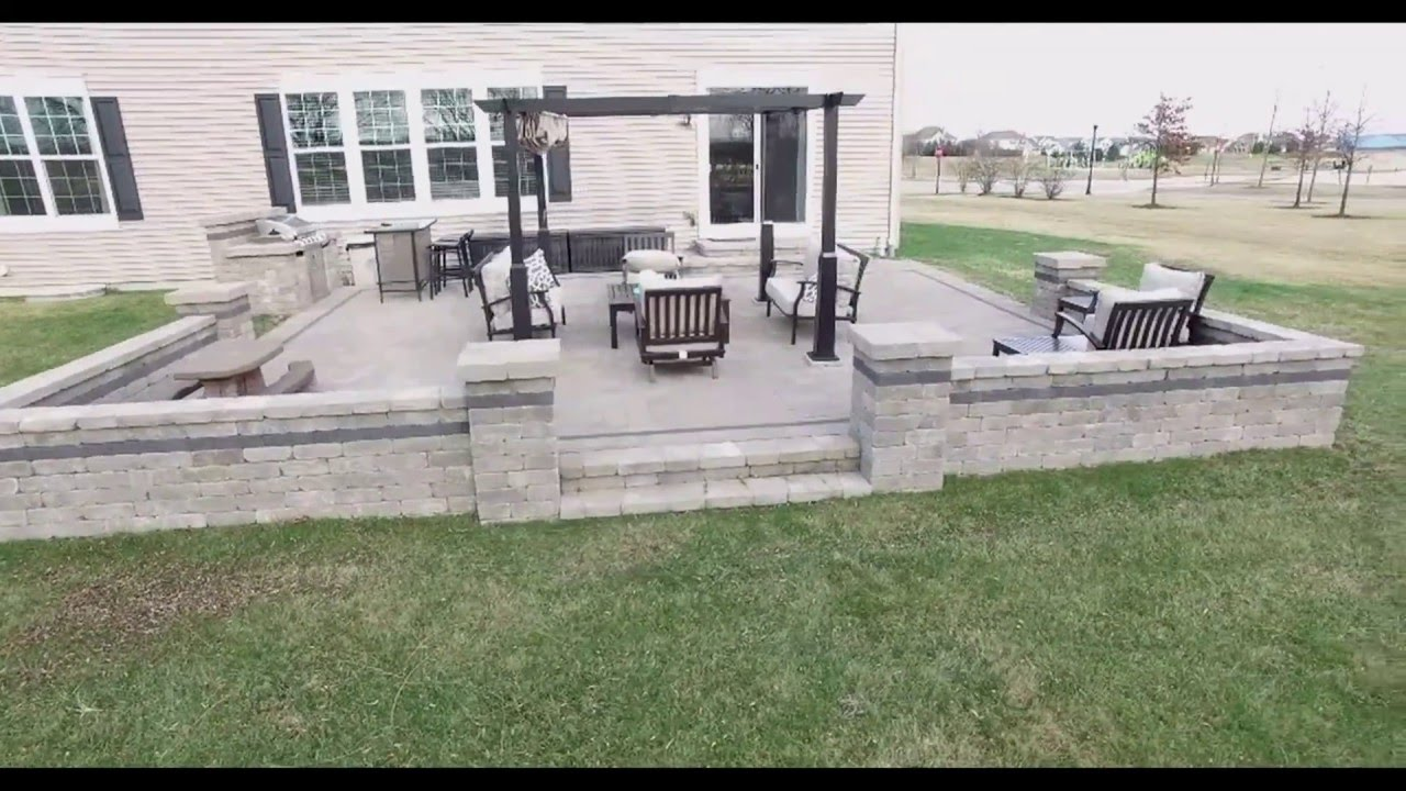 Belgard Paver Patio Installed By Fox Valley Hardscapes (630)479 0527