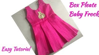 Baby Frock Cutting and Stitching/Box pleated Baby Frock Cutting and Stitching