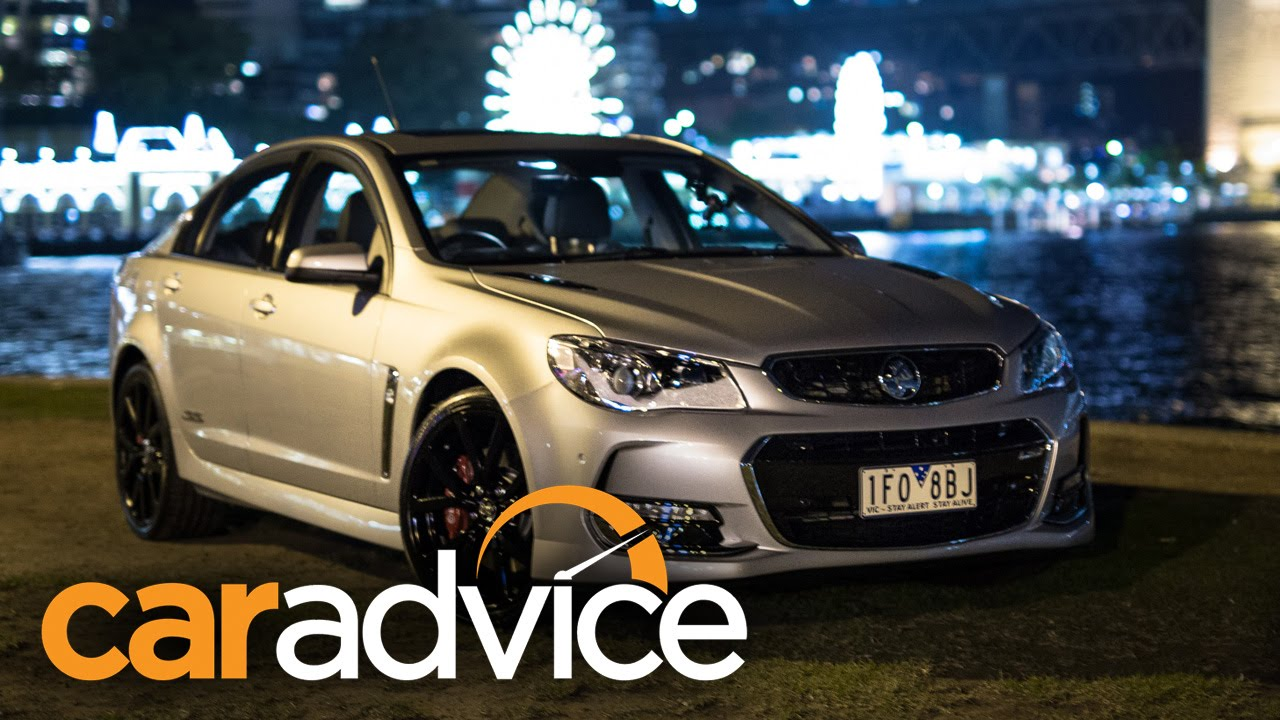 Elegant 2016 Holden Commodore SSV Redline Night Review  YouTube