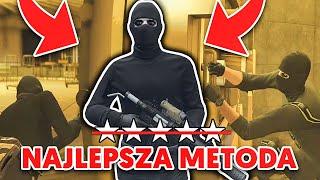 NAJLEPSZA METODA 3! *BEZ STRZELANIA I POLICJI* NAPAD NA KASYNO | GTA V