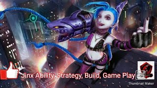 League Of Legends Wildrift AlphaTest Jinx Build, Strategy, Play Style, Skin, Abilities, and GamePlay