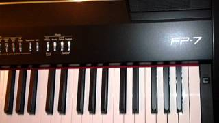 เธอคือใคร (piano cover)