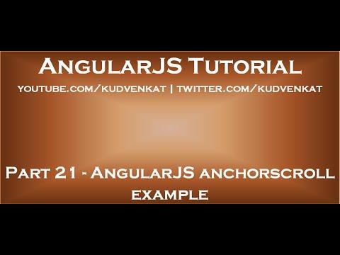 AngularJS anchorscroll example