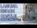 Drone Footage Laguna Beach Pirate Castle Tower 4k 2017 Travel Tip DJI Phantom 4 hd with music 2016